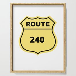 US Route 240 Serving Tray