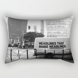New York Post Truck, Manhattan Rectangular Pillow