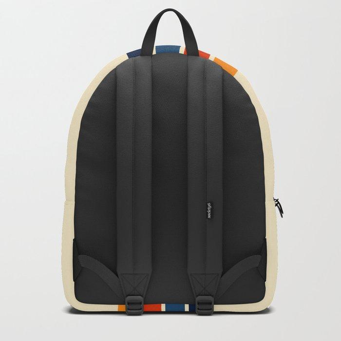 Classic Retro Stripes Backpack