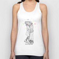 larry Tank Tops featuring HNY LARRY  by otp-hedgefrog