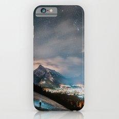 Banff at night iPhone 6 Slim Case