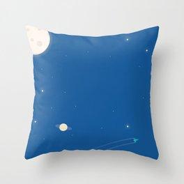 Rocket #2 Throw Pillow