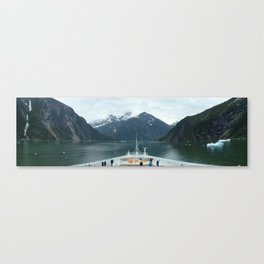 Tracy Arm Channel (Large) Canvas Print