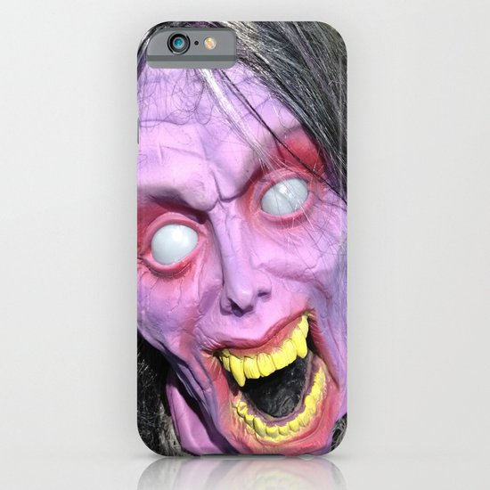 Scary Lady iPhone & iPod Case