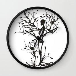 Motherhood and Halloween Wall Clock