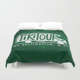 Tiki Tour Duvet Cover