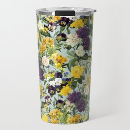 Floral C Travel Mug