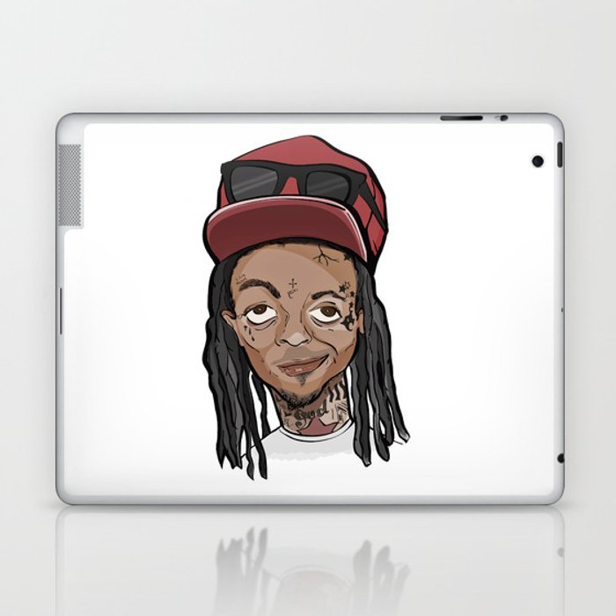 Weezy Laptop & iPad Skin