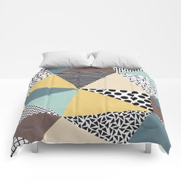 Abstract Geometry Comforters