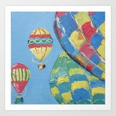 Sweet Skies - Panel 3 Art Print