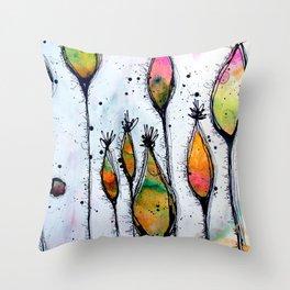 Pod Forest Throw Pillow