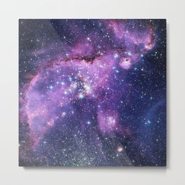 Small Magellanic Cloud Metal Print