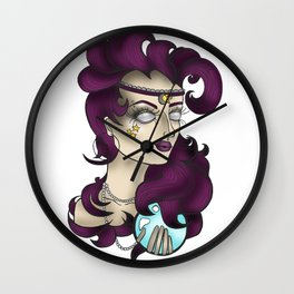 Oracle Girl Wall Clock