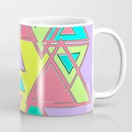 Colorful triangles Coffee Mug