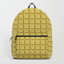 Just white chocolate / 3D render of white chocolate Backpack