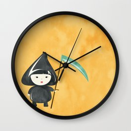 Halloween Death Wall Clock