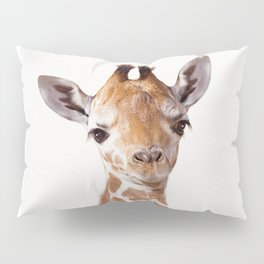 Baby Giraffe, Baby Animal Art Prints By Synplus Pillow Sham