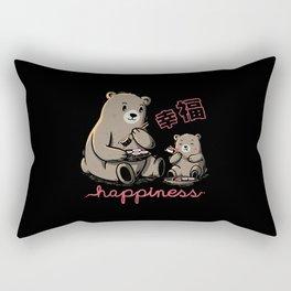 Happiness Sushi Rectangular Pillow