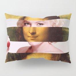 """Leonardo Da Vinci's """"Mona Lisa"""" & M.M. Pillow Sham"""