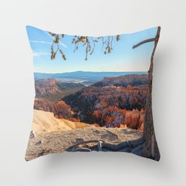 Overlook the Bryce Canyon Throw Pillow