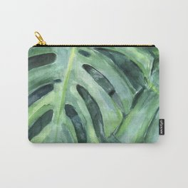 Palm leaves print Carry-All Pouch