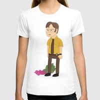 dwight schrute T-shirts featuring Majestic Schrute Farms by gregmsna