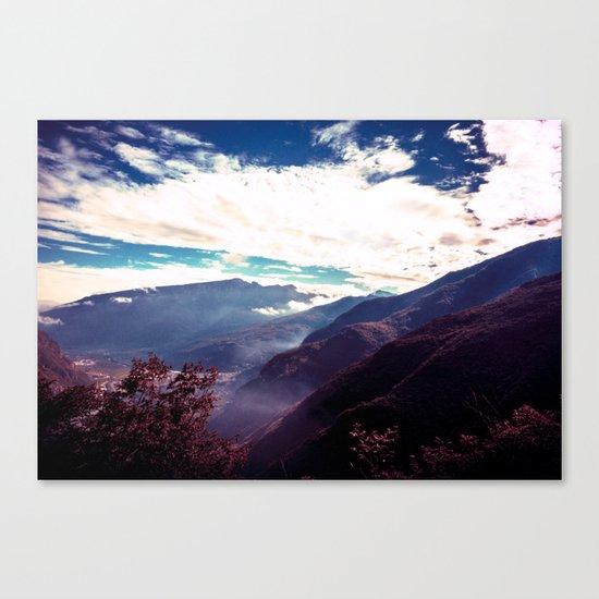 Make It Possible (Purple) Canvas Print
