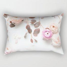 SPRING FLOWERS IN BLUSH 1 Rectangular Pillow