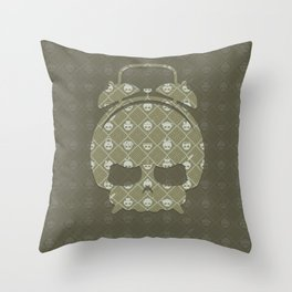 The Nik-Nak Bros. Durdy Gold Deluxe Throw Pillow