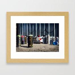 Canned Goods Framed Art Print