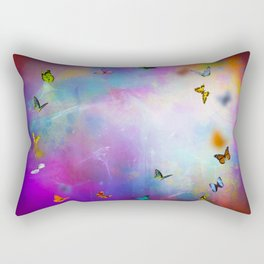 Butterflies dancing. Rectangular Pillow