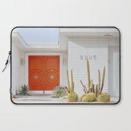 Orange Door in Palm Springs Laptop Sleeve