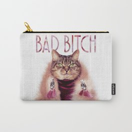 Bad Bitch Cat Carry-All Pouch