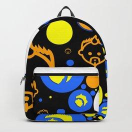 Bubble Logo 2 by John Logan Backpack