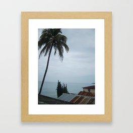 A Haitian Life by the Sea Framed Art Print