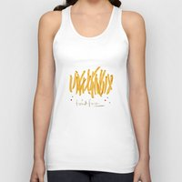 french fries Tank Tops featuring French Fries #glamfood by Silbox