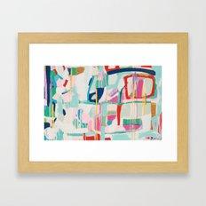 Cafe Orchestra Framed Art Print