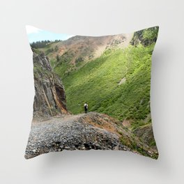 "Out for a ""Stroll"" Throw Pillow"
