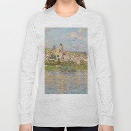Vetheuil by Claude Monet Long Sleeve T-shirt