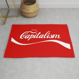 Enjoy Capitalism Rug