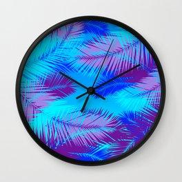 Tropic island Wall Clock