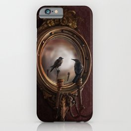 Brooke Figer - Reflection on Perception iPhone Case
