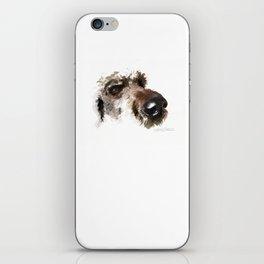 Dogface Golden Doodle iPhone Skin