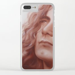 'Leaves Are Falling All Around' Clear iPhone Case