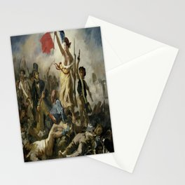 Eugene Delacroix's Liberty Leading the People Stationery Cards