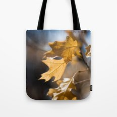 Winter Oak Tote Bag