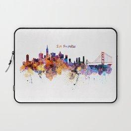 San Francisco Skyline Laptop Sleeve