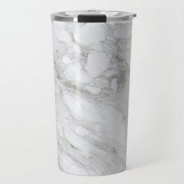 Calacatta Marble Travel Mug