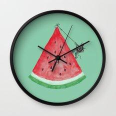 Summer Climb Wall Clock