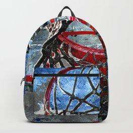 Basketball art swoosh vs 32 Backpack